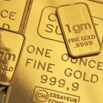 Gold slips back to negative territory on upbeat U.S. data