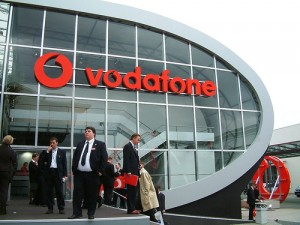 Vodafone Group Plc' share price down, posts decreasing