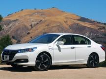 Honda presents Accord Hybrid model as 2014's top fuel-efficient sedan