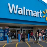 Wal-Mart Stores Inc.'s share price up, reports third-quarter sales above analysts' forecasts due to increasing same-store sales in the U.S.