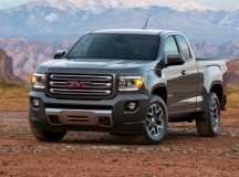 GM unveils its new mid-size pick-up truck GMC Canyon