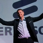 Ericsson AB's share price down, posts first-quarter sales that fail to reach analysts' estimates