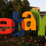eBay Inc.'s share price down, announces a fourth-quarter sales projection that misses analysts' forecasts