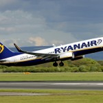 Ryanair Holdings' share price up, posts a 8% drop in net profit, but forecasts profit growth due to flying more passengers