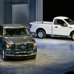 Ford Motor Co share price up, raises price tag of model 2015 F-150 trucks, introduces aluminium body
