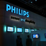 Philips Electronics' share price down, third-quarter earnings miss initial forecasts due to currency effects and lower demand in China and Russia