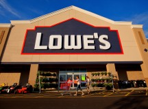 Lowe's shares hit a fresh all-time high on Wednesday as quarterly earnings top estimates, full-year profit forecast revised up
