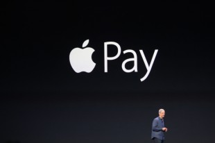 Apple Inc. share price up, launches Apple Pay