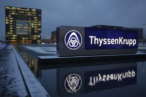 ThyssenKrupp AG share price down, records Q1 net profit on lower costs