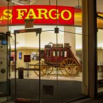 Wells Fargo shares retreat the most in two months on Monday, applications for credit cards at the bank decrease in February