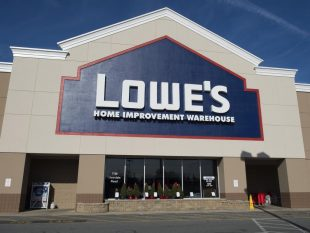 Lowe's shares retreat the most in seven months on Wednesday, as first-quarter comparable sales fall short of expectations