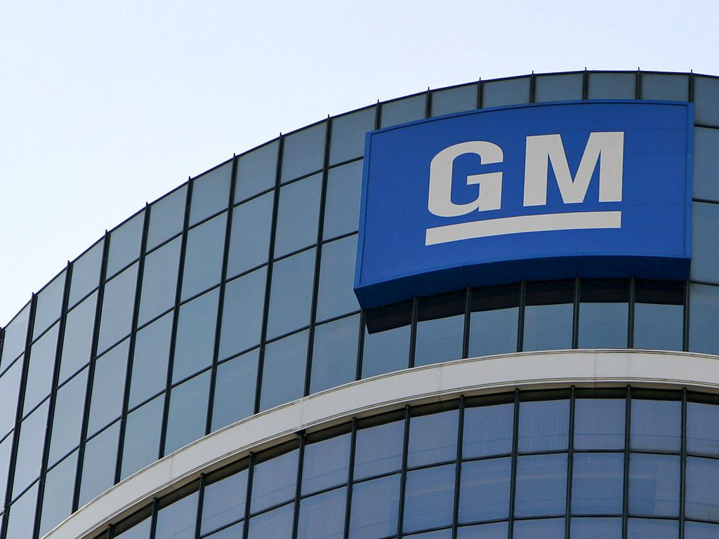 General Motors Shares Gain For The First Time In Four