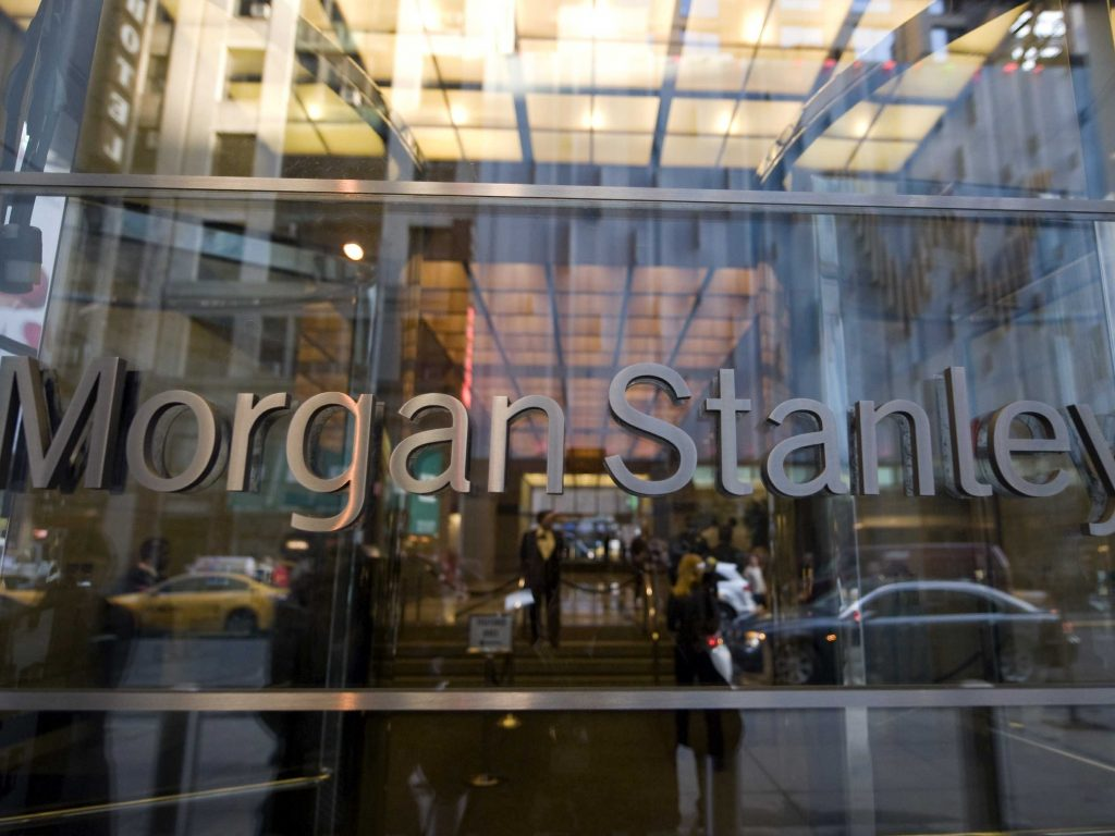 Morgan Stanley shares close lower on Friday, holding