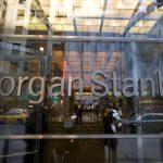 Morgan Stanley shares close lower on Monday, CEO compensation plan approved by holding's shareholders