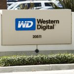 Western Digital shares gain the most in seven weeks on Wednesday, company's performance figures top market expectations