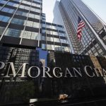 JP Morgan Chase shares gain for a third session in a row on Wednesday, holding fined $4.6 million in relation to checking account reports