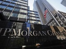 JP Morgan Chase shares retreat a fourth straight session on Wednesday, another shareholder vote on leadership to be conducted in May