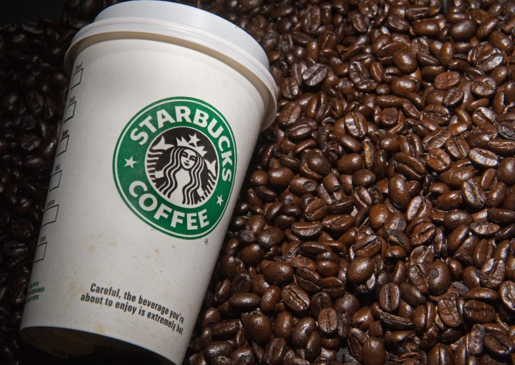 Starbucks shares gain for a fourth straight session on