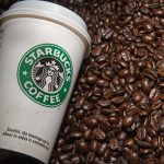 Starbucks shares close lower on Thursday, retailer's quarterly sales miss market expectations