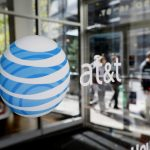 AT&T shares fall the most in a month on Wednesday, 17 000 workers in Nevada and California take part in a walk-out