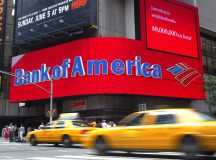 Bank of America shares close lower on Wednesday, company shareholders to conduct another chairman vote