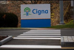Cigna shares gain a third straight session on Thursday, company's CFO McCarthy to leave
