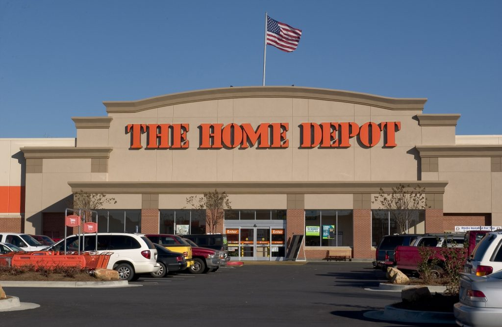 Home Depot Shares Hit A Fresh All Time High On Tuesday As