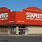 Staples shares retreat the most in almost seven months on Thursday, retailer's Q4 earnings and sales fall short of expectations