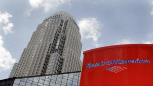 Bank of America shares close lower on Friday, holding's broker-dealer affiliate ordered to pay $2.5 million fine