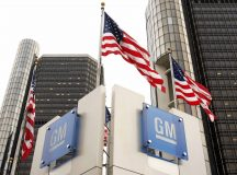 General Motors shares fall the most in five weeks on Thursday, auto maker plans production cuts, lay-offs at Detroit facility