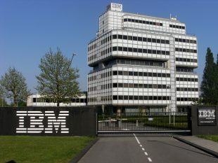 IBM shares fall the most in a month on Thursday, live tracking flight data to be added to the company's Weather Channel