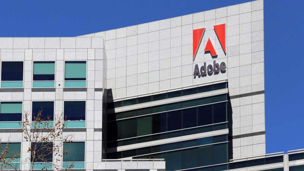 Adobe reports 26.7 percent jump in quarterly revenue