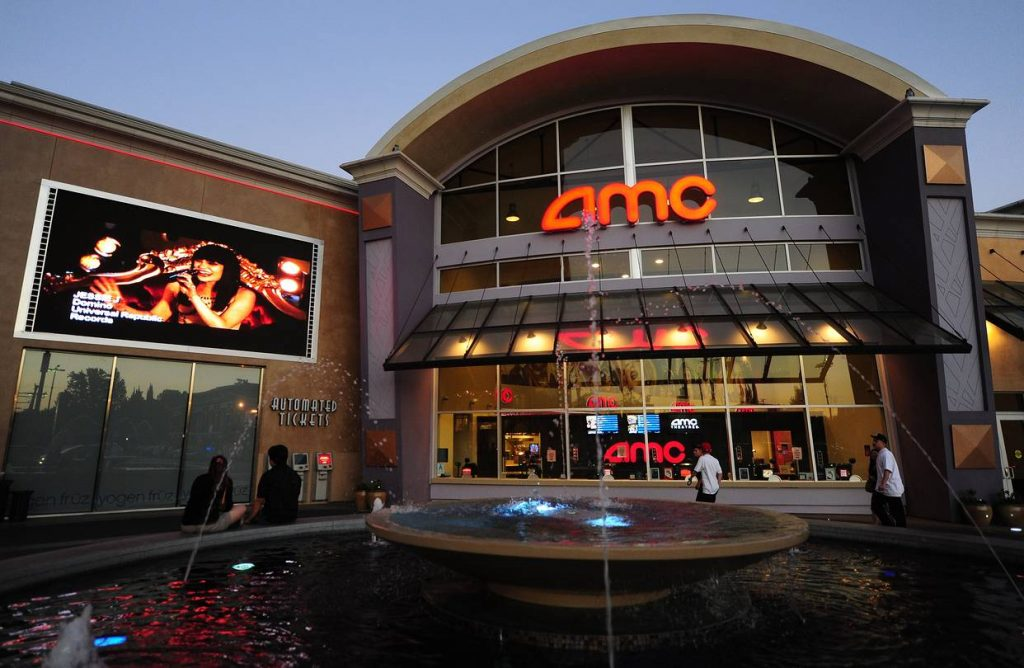 AMC Entertainment Holdings, Inc. (NYSE:AMC) Buckles Under The Trend Lines