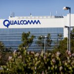 Qualcomm shares gain for a third straight session on Thursday, company to generate $1 billion in sales outside core business