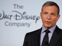 Walt Disney shares gain for a second straight session on Friday, CEO Iger's compensation shrinks 17% in fiscal 2017
