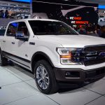 Ford shares close lower on Monday, auto maker to introduce diesel truck during spring