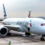 American Airlines shares fall for a second straight session on Thursday, fourth-quarter profit shrinks as operating expenses soar