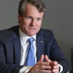 Bank of America shares close higher on Friday, group CEO Moynihan's incentive compensation approved by the board