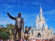 Walt Disney shares fall the most in 2 1/2 years on Tuesday, Comcast disrupts Fox, Disney plan with an all-cash offer for Sky, Disney expands French theme park