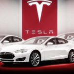 "Tesla shares retreat for a fifth straight session on Monday as Goldman Sachs reiterates its ""Sell"" rating on the stock"