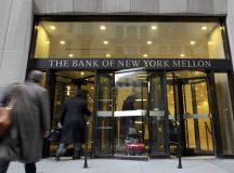 BNY Mellon shares fall for a third straight session on Thursday, investment group plans to open office in Saudi Arabia this year