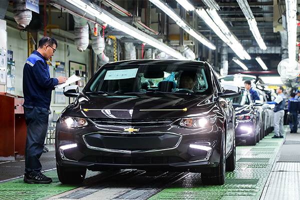 general motors shares fall for a fourth straight session on friday