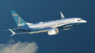 Boeing shares rebound on Friday, company's 737 Max 7 narrowbody jet makes its first flight