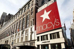 Macy's shares fall for a third straight session on Thursday, quarterly comparable sales decrease more than expected, full-year earnings forecast cut