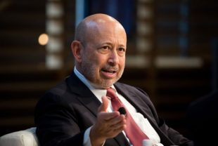 Goldman Sachs shares fall for a fourth straight session on Friday, CEO Lloyd Blankfein likely to retire by December, NYT reports
