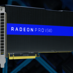 AMD shares gain for a seventh straight session on Monday, company reveals Radeon Pro V340 graphics card