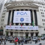 Fiat Chrysler shares trade lower in Milan on Friday, EUR 5 billion to be spent on new models and engines in Italy in three years