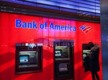 Bank of America shares gain for a second straight session on Monday, bank finalizes relocation of its European operations to Dublin