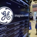 General Electric shares gain the most since March 2009 on Thursday as fourth-quarter sales exceed market expectations