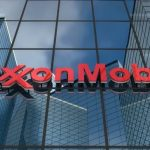 Exxon Mobil shares fall for a third straight session on Monday, company doubles production capacity at Newport, Wales facility